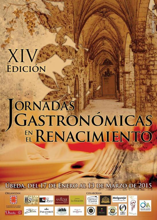 XIV Edición Jornadas Gastronómicas en el Renacimiento