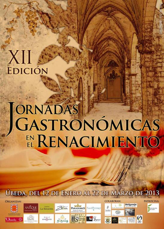 XII Edición Jornadas Gastronómicas en el Renacimiento
