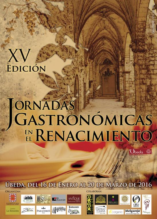 XV Edición Jornadas Gastronómicas en el Renacimiento
