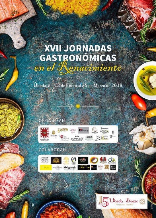 XVII Edición Jornadas Gastronómicas en el Renacimiento